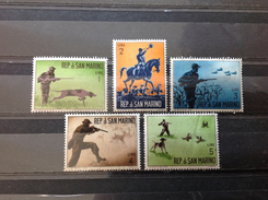 San Marino - Postfris / MNH - Serie Jacht 1962 - Unused Stamps