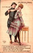 A H Katz - Les Jeux De L'amour, Colin-maillard - Illustratori & Fotografie