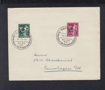 Dt. Reich Brief 1936 Sonderstempel Weltkongress Für Freizeit Und Erholung - Briefe U. Dokumente