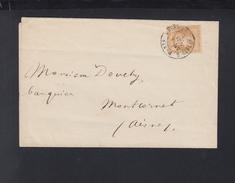 Lettre Paris Cardinal-Lemoine - Poststempel (Briefe)