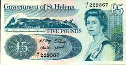SAINTE-HELENE 5 LIVRES De 1998nd  Pick 11a  UNC/NEUF - Saint Helena Island