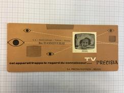 17K/4 - Télévision électronique Dassonville La Louvière Reine Fabiola - Buvards, Protège-cahiers Illustrés