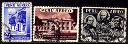 03763 Peru Aéreo 62/64 Congresso Panamericano U - Peru
