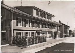 LE BRASSUS Hôtel De France P. Piquet Propr. Tanksäule Shell - VD Vaud