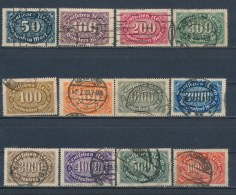 Duitse Rijk/German Empire/Empire Allemand/Deutsche Reich 1922 Mi: 246-257 Yt: 181-192 (Gebr/used/obl/o)(1978) - Duitsland
