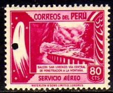 06465 Peru Aéreo 81 Ponte De São Lourenço Nn - Peru