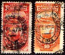06476 Peru Taxas 6/7 Lhama Navio U - Peru