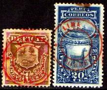 06477 Peru Taxas 12 - 15 Lhama Navio Nn - Peru
