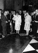 REAL Photo / ROYALTY / Belgium / Belgique / Fabiola De Mora Y Aragon / Koningin Juliana / Diest / 1980 - Diest