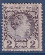 Monaco N°2 - Neuf * - TB - Monaco