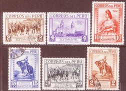 06517 Peru 303/07 + 310 Cidade De Lima N / U - Peru