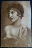 CPA Bonne Année 6252/5 1923 Portrait De Jeune Femme - Nouvel An