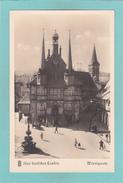 Old/Antique? Postcard Of Rathaus,Wernigerode, Saxony-Anhalt, Germany,R25. - Wernigerode