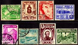 06845 Peru 356/53 Diversos U - Peru