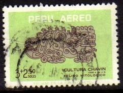 06868 Peru Aéreo 186 Cultura Chalvin U - Peru