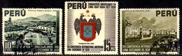 06967 Peru 366/68 Congresso Panamericano U - Peru