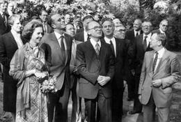 REAL Photo / ROYALTY / Belgique / Roi Baudouin / Koning Boudewijn / Fabiola De Mora Y Aragon / 1980 - Brugge