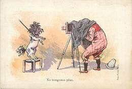 PIE-F-V-17-1417 : LE PHOTOGRAPHE. CHROMO. MAGASINS LAJEUNESSE MARX ET CIE. NANTES. CHIEN. - Photography