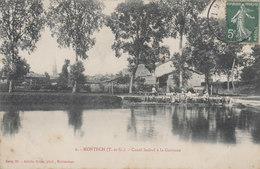 MONTECH    CANAL LATERAL A LA GARONNE - Montech