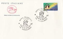 1994 ITALIA - 02 LA CASALINGA - FDC CAVALLINO - ANNULLO ROMA FILATELICO - 6. 1946-.. Repubblica