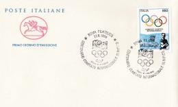 1994 ITALIA - 06 COMITATO INTERNAZIONALE OLIMPICO - FDC CAVALLINO - ANNULLO ROMA FILATELICO - 6. 1946-.. Repubblica