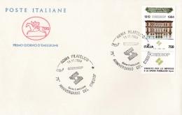 1994 ITALIA - 11 CREDIOP - FDC CAVALLINO - ANNULLO ROMA FILATELICO - 6. 1946-.. Repubblica