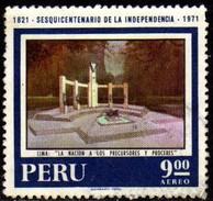 07380 Peru Aéreo 303 Independência Pinturas U - Peru
