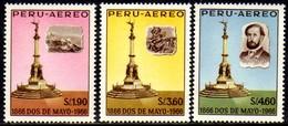 07409 Peru Aéreo 201/03 Monumentos Nnn - Peru