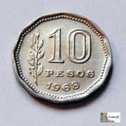 Argentina - 10 Pesos - 1968 - Argentina