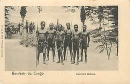 PIE FRP-17-011 : CONGO. GUERRIERS MOBEKA - Congo Belge - Autres