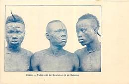 PIE FRP-17-012 : CONGO. TATOUAGES DE BANGALAIS ET DE BAPOTOS - Congo Belge - Autres