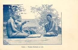 PIE FRP-17-013 : CONGO. FEMMES BATEKES AU JEU - Congo Belge - Autres