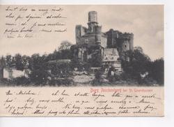 Cpa.Allemagne.1903.Burg Reichenberg Bei St Goarshausen. - Rhein-Hunsrück-Kreis