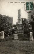 41 - DANZE - Monument Aux Morts - France