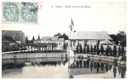 78 - VELIZY -- Eglise Et Place De L'Eglise - Velizy