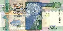 SEYCHELLES 10 ROUPIES De 1998nd  Pick 36  UNC/NEUF - Seychelles