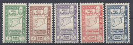 SYRIE - 1944 - Série Poste 266 à 270 - Neufs - XX - MNH - TB - - Syria (1919-1945)