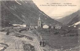 09 - ARIEGE / L Hospitalet - Vue Générale Et Chantiers Des Travaux Du Chemin De Fer - Autres Communes