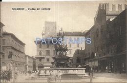 69939 ITALY BOLOGNA EMILIA ROMAÑA SQUARE OF NEPTUNE POSTAL POSTCARD - Italie