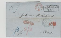 Pol199 / / - POLEN -Königreich 1858-1865, Rothschild Korrespondenz, Aus Russland Franco, über Berlin Nach Paris - ....-1919 Übergangsregierung