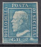 1859  Sassone Nº 8 - Sicile