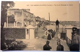 VUE DE LA TERRASSE DU CASINO - LES SABLES D'OLONNE - Sables D'Olonne