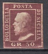 1859  Sassone Nº 14   / * / - Sicilia