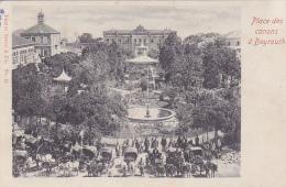Cpa-asie-liban-beyrouth /beirut-place Des Canons-edi Tarazi & Fils N°12 - Libanon