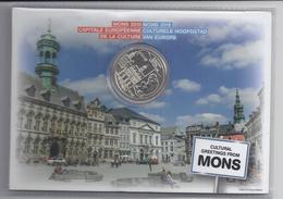 BELGIE -BELGIQUE EUROMUNT 5 Euro 2015 -  Mons Culturele Hoofdstad Van Europa - IN COINCARD - Belgique