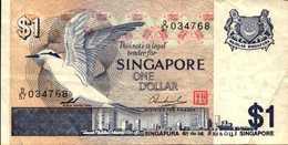 SINGAPOUR 1 DOLLAR De 1976nd  Pick 9 - Singapore