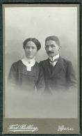 SUISSE PHOTO CDV Ca. 1890  Portrait Couple Photographe Bollweg Herisau Appenzell - Photographs