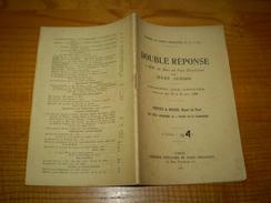 SFIO Double Réponse à Mrs De Mun & Paul Deschanel Par Jules Guesde Chambre Des Députés 1896.Parti Socialiste.Bracke - Politique