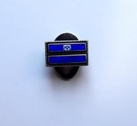 Pin Militare In Argento (925) -P416 - Militari