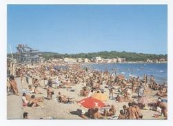 83 -LA SEYNE SUR MER - LES SABLETTES  --plage  - DOS VISIBLE  -C87 - La Seyne-sur-Mer